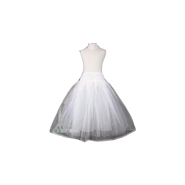 e302853aeb39 Free Shipping High Quality No Hoop Children Petticoat Crinoline Underskirt  Petticoat For Flower Girl Dress Wedding Accessories