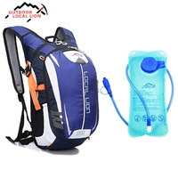 LOCAL LION Climbing Backpack With 1.5 L Water Bag 18L Cycling Backpack Breathable Outdoor Cycling Backpack Hiking Backpacks