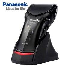 プロパナソニック携帯用電気シェーバー ES RC30 充電式シングルヘッド Dyr & ウェットメンズ電気かみそり、往復