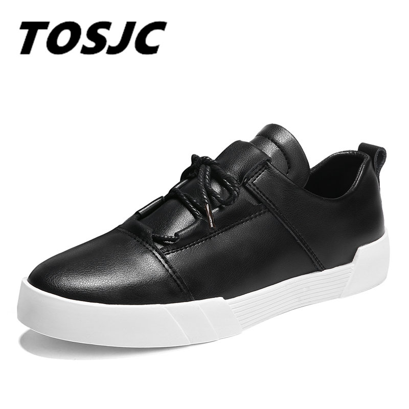 TOSJC Men Shoes 2018 Spring Fashion Shoes Scarpe da uomo in pelle - Scarpe da uomo