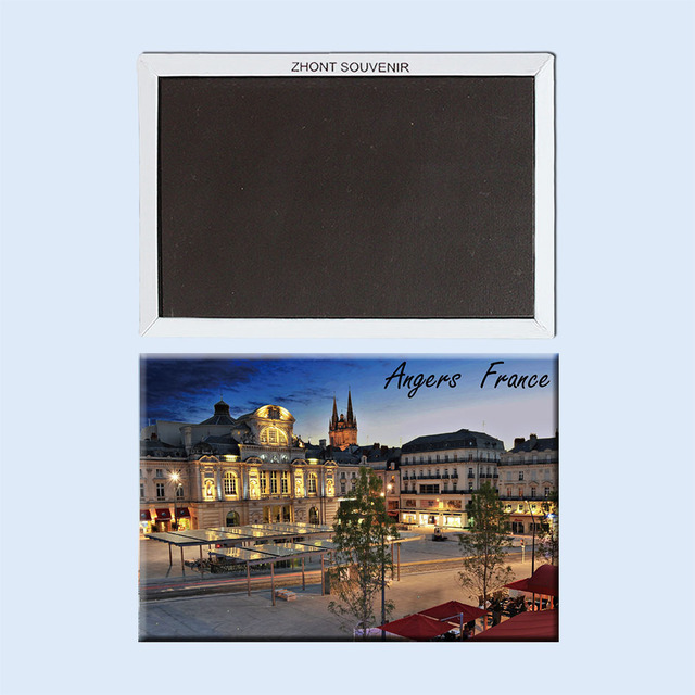Angers West City of France nights22510Souvenirs of Worldwide Tourist on