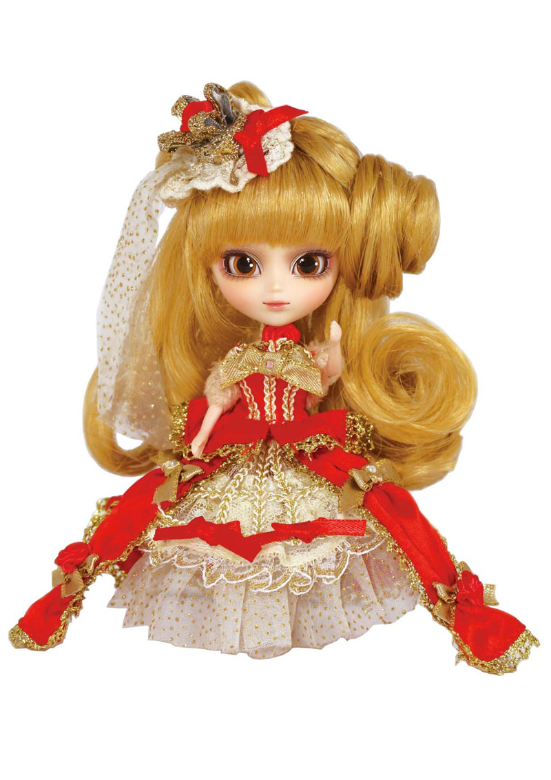 LITTLE PULLIP WE LOVE PULLIP 10TH ANNIVERSARY PARTY with box and beautiful dress mini doll girl gifts lovely toy little love