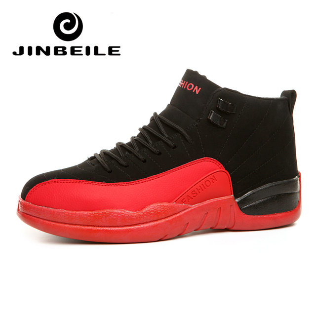 sports shoes a0dc4 5478a JINBEILE Similar Jordan 12 Men Basketball Shoes Outdoor Unisex Sport Shoes  Athletic Sport Sneakers Basket Homme 2018 Big Size 46