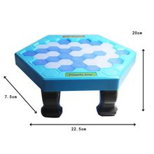 Penguin Trap Ice breaker Game Save Penguin on Ice Block Family Toy Funny Game Interactive Educational Toys for Children Birthday