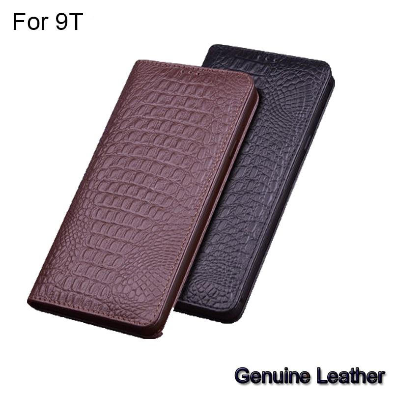 Flip en cuir véritable de luxe pour Xiao mi mi 9 T 9 t demi-paquet en cuir étui de téléphone pour xiaomi mi 9 T coques de téléphone antichoc mi 9 T Shell