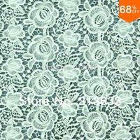 POs62-38 tekstil bilgisayar nakış kumaş toptan ürünleri suda çözünür pamuk nakış kumaş yumruk nakış kumaş iplik