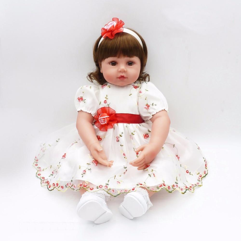 Pursue 24/60 cm Adora Bebe Reborne Princess Doll Toys for Children Girl House Play Education Interactive Doll Toys Birthday Toy