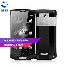 Original Blackview BV8000 Pro 4G Smartphone 5.0 inch Android 7.0 MTK6757 Octa Core 6GB RAM 64GB ROM 16MP Waterproof Mobile Phone