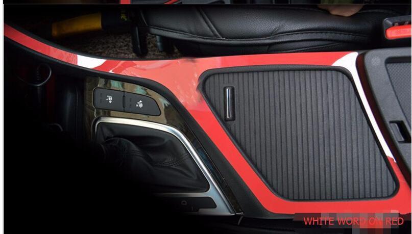 Interior Car Gear Box Decoration Sticker Car stying For Kia K5 Optima 2011 2012 2013 2014 2015 1Pc With 2 Kinds Car Accessories