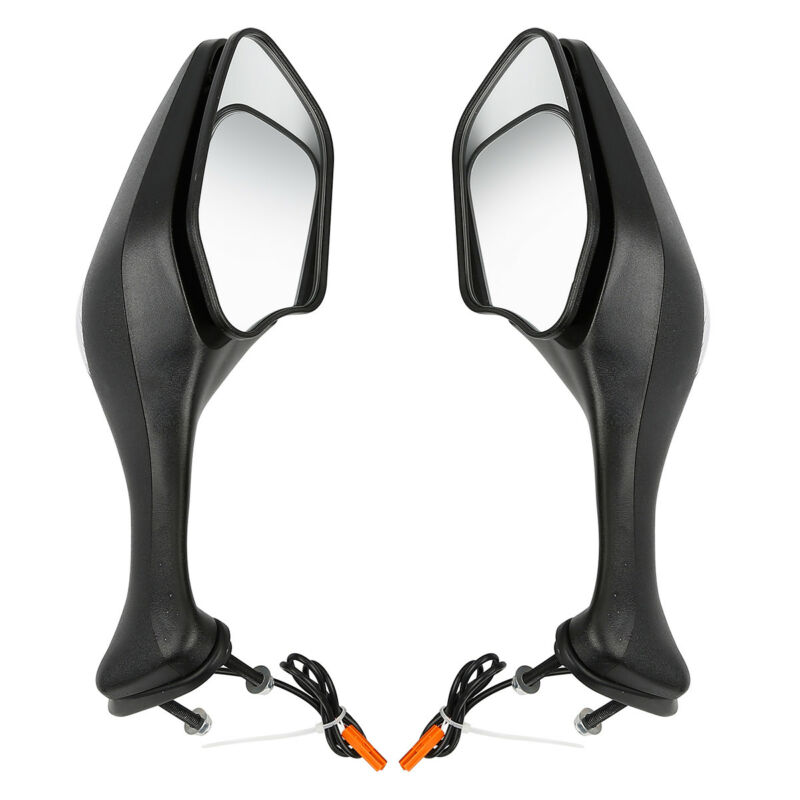 Rearview Mirrors Integrated LED Turn Signals For Honda CBR 1000RR 08 12 09 10 11