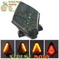 Мотоцикл LED Задний сигнал поворота Задний стоп-сигнал лампа Интегрированная для Yamaha YZF-R1 YZF R1 2007 2008 07 08