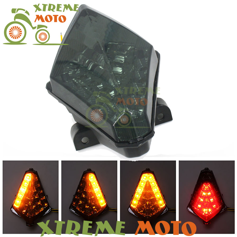 Motorcycle LED Rear Turn Signal Tail Stop Light Lamp Integrated For Yamaha YZF-R1 YZF R1 2007 2008 07 08