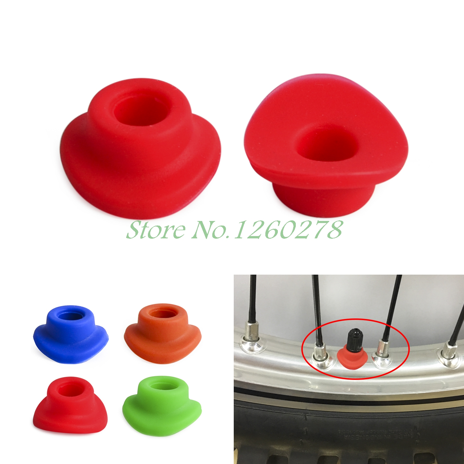 Air Valve Sleeve Waterproof Pad Rubber For Honda CR80R/85R CR125 250 CRF150R CRF250R/L CRF250X CRF450 CRF230F XR230 XR400