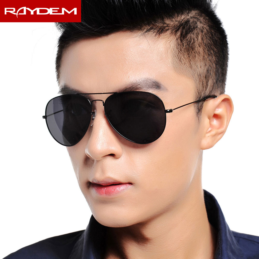 2018 Raydem Oculos Masculino New Arrival Hot Sale Oculos De Sol Feminina Glass Sunglasses Men And Goose Mirror Driving Glasses