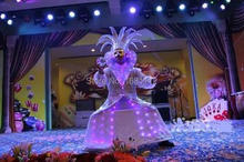 lluminated robot suit / lluminated LED /light up dress/luminous costume Picture
