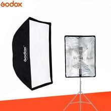"Godox المحمولة مظلة سوفتبوكس 60*90 سنتيمتر 60*90 سم 24 ""* 35"" مظلة عاكس عالية الجودة فلاش القماش ل Speedlight"