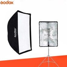 """Godox נייד מטריית Softbox 60*90 cm 60*90 cm 24 """"* 35"""" מטריית רפלקטור גבוהה איכות פלאש בד עבור מבזק"""