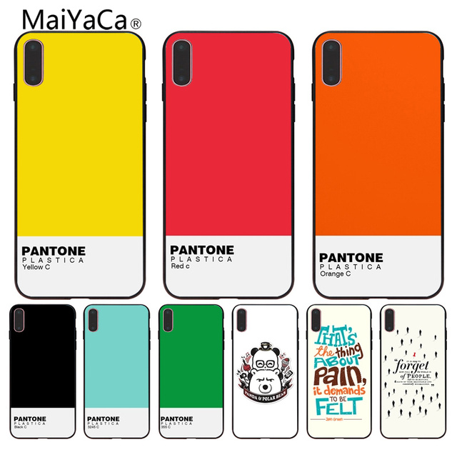 pantone coque iphone 8