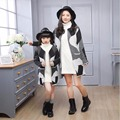 Hot Family Clothe Family Matching Outfits Coats Mother Daughter Son Kids Clothing Fall  coat Family Look fitted Children Outwear
