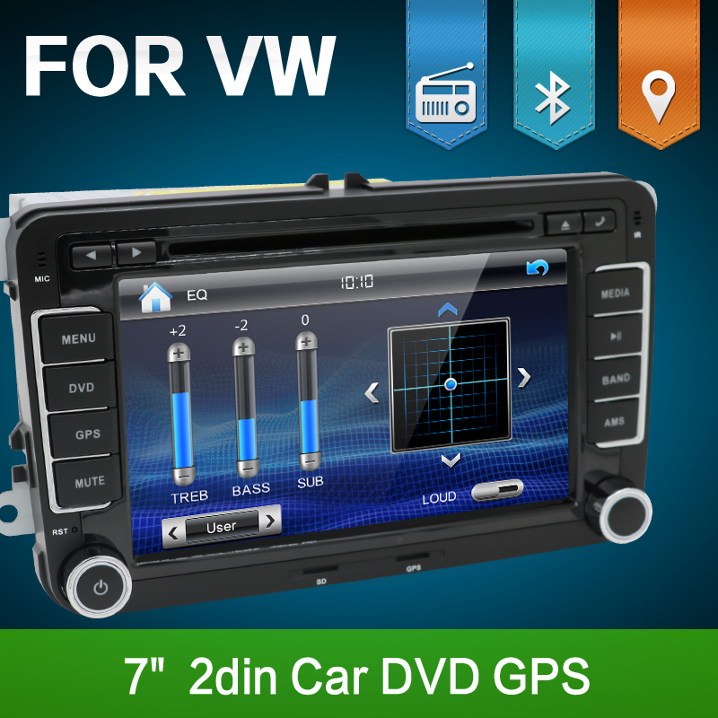 2 din car dvd for vw golf 6 polo passat cc jetta tiguan. Black Bedroom Furniture Sets. Home Design Ideas