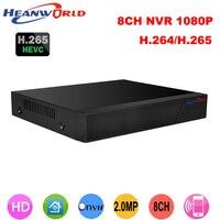 CCTV 8CH NVR Onvif H 264 HDMI High Definition 1080P Full HD 8CH Network Video Recorder
