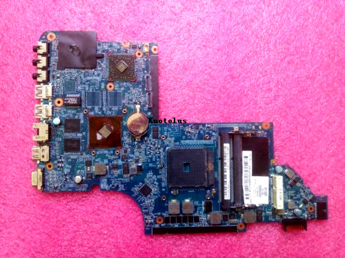 665280-001 For HP Pavilion DV6 DV6-6000 laptop motherboard HD6490 512M DDR3 Free Shipping 100% test ok 509450 001 motherboard for hp pavilion dv6 daut1amb6d0 tested good