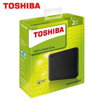 """東芝 1 テラバイト 2 テラバイト 3 テラバイト外部 HDD 1000 ギガバイト HD ポータブルハードドライブディスク USB 3.0 SATA3 2.5 \""""HDTB110A 100% オリジナル新"""