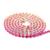 Não Strass Hotfix Strass De Vidro Copo Garra Cadeia Mixed 18 Cores Cada 0.9 m Para Backapck Vestidos de Casamento DIY Projeto decorações