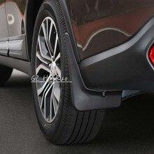 4 шт брызговик крыло Perfector Внешнее украшение для Mitsubishi Outlander