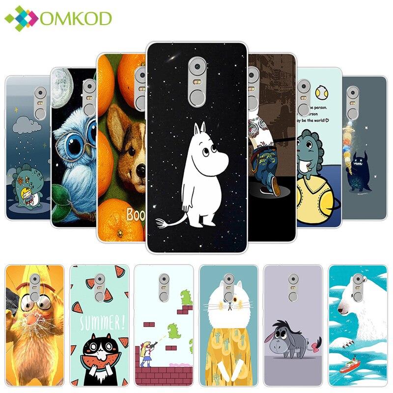 For Lenovo K6 Note 5.5 inch for K53 A48 K6Note K53A48 Case Soft TPU Silicone Cute Hippo Phone Cover for Lenovo k6 note Gel Skin