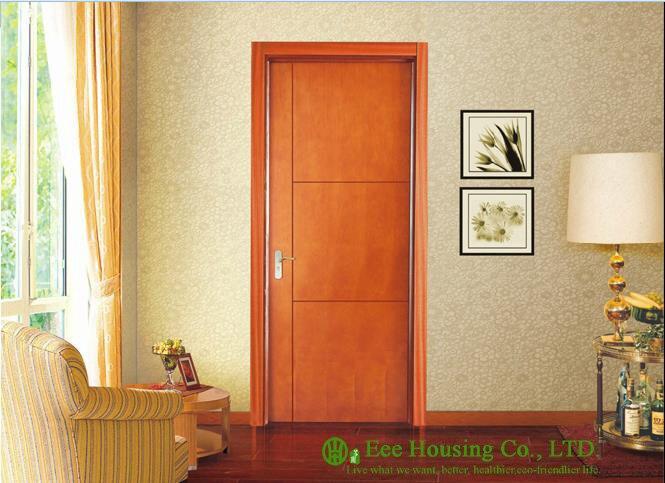 40mm Thickness Timber Veneer Door For Residential Villa