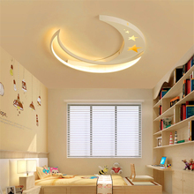 Modern Children Ceiling Lights Room LED Ceiling Lamp Boy Girl Princess Cartoon Moon Led Bedroom Lighting Hanging Lamps Luminaire modern led ceiling lights living room kids room lamps iron avize luminarias luminaire led home lighting bedroom boy girl room