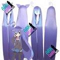 Miniwa Tsumiki peluca - Acchi Acchi Kocchi pelucas Miniwa Tsumiki Cosplay peluca púrpura para mujer Acchi Acchi Kocchi pelucas de Cosplay