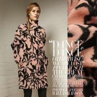 Custom manufacturer wholesale coat cashmere wool fabrics/100cm*150cm