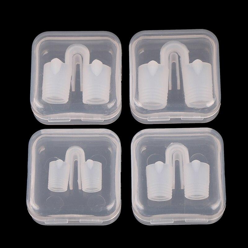2PCS Anti Snore Nasal Dilators Breathe-Easy Stop Cones Congestion Health Care Aid Sleep Relieve Snore Device Set
