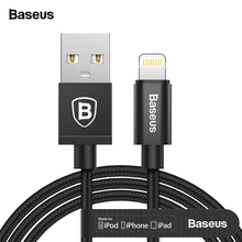 Baseus MFI USB Cable For iPhone Xs Max Xr X 8 7 6 6s Plus 5 5s se iPad Mini Pro Fast Charging Data Charger For Lightning Cable