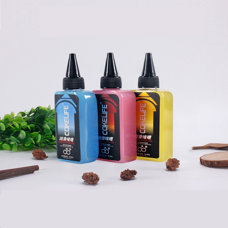 USA Man Anal Sex Lubricant for gay Water-soluble sex oil Ice thermal sensation of pain relief 3 styles 160g sex products strawberry water based lubricant vagina anal sex lube gay lubricante adult oil oral sex toys sexual massage oil products hot