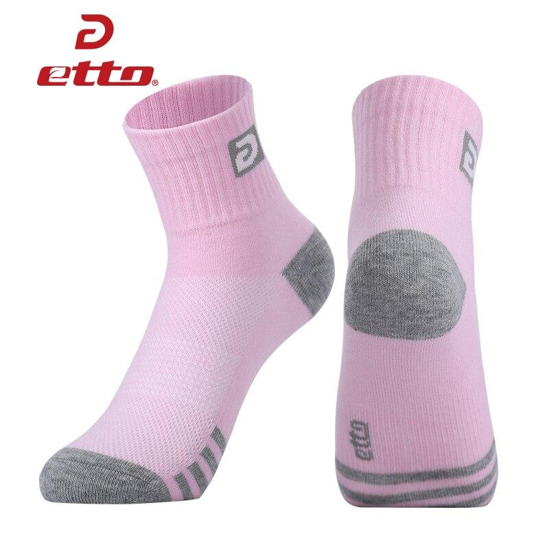 Etto Marke Freizeit Baumwolle Sport Socken Frauen Laufen Radfahren Socken Atmungsaktiv Absorbieren Schweiß Athletic Training Sox Weibliche Heq124 Senility VerzöGern Lauf