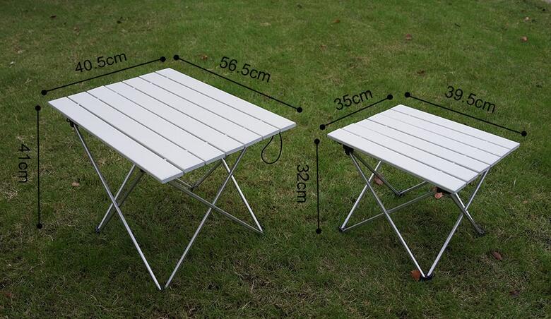 Outdoor portable camping table aluminium alloy folding table picnic 1a 1b 1c watchthetrailerfo