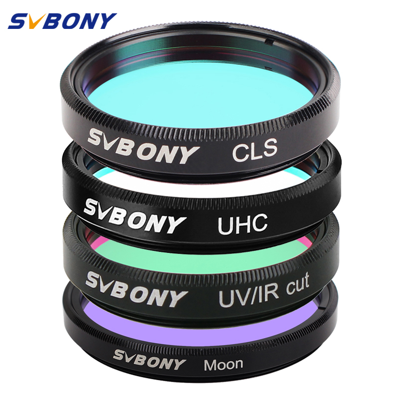 SVBONY 1 25 UHC CLS Moon UV IR Cut Filters for Astronomy Telescope Monocular Astronomical Observations