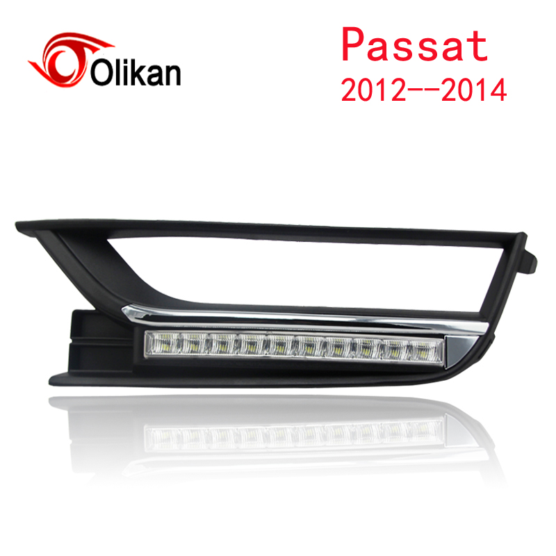 Выключите и затемнения стиль реле ВОДИТЬ Автомобиль DRL Габаритные огни для VW <font><b>Passat</b></font> <font><b>B7</b></font> 2012 2013 2014 с Туман лампа