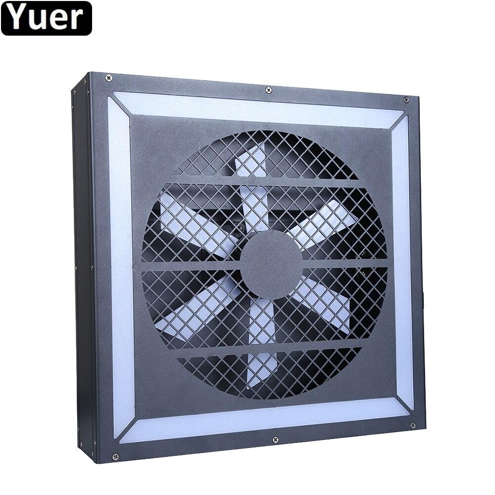 Nouveau ventilateur LED effet lumières 116 pièces 5.0*5.0 LED DMX son fête lumière couleur musique DJ Disco lumières stade Super stroboscope éclairage