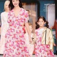 Wholesal Pink Dresses Digital Printing Mulberry Silk Crepe Dresses Print Satin Fabric Textiles Cheap Fabrics Tweed