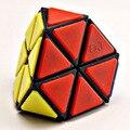 Qj Tetraminx cubo mágico Puzzle blanco y negro