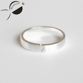 Open Rings 925 Sterling Silver For Women Classic Simple Ring For Lovers Handmade Arrow Opening Engagement Rings Fashion Gifts