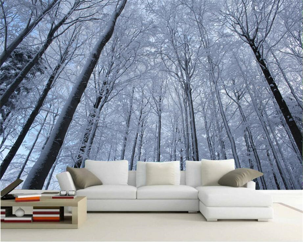 online buy wholesale snow trees wallpaper from china snow trees