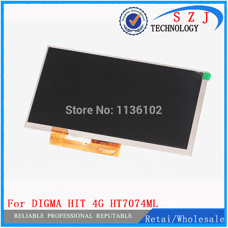 Original New 7/'/' Tablet Touch Screen Digitizer Sensor For Digma Hit 4G HT7074ML