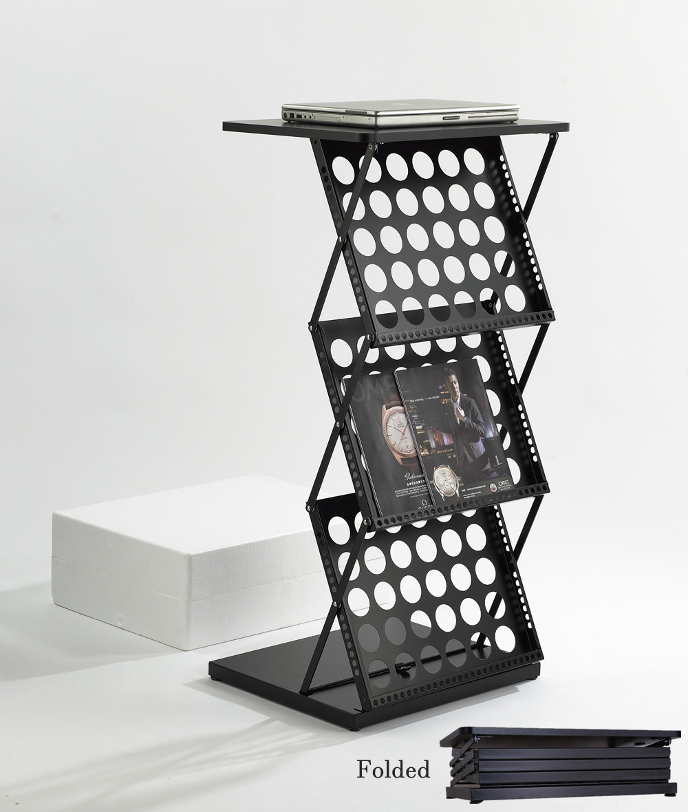 Metall Klapp daten rahmen tragbare datei katalog ausstellung poster ...