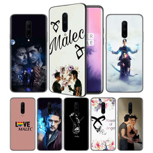 shadowhunters Malec Soft Black Silicone Case Cover for OnePlus 6 6T 7 Pro 5G Ultra-thin TPU Phone Back Protective