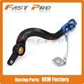 CNC Billet Flexable MX Rear Foot Brake Pedal For YZ450F YZF 450 2010-2016 Motorcycle Dirt Bike Motocross Off Road